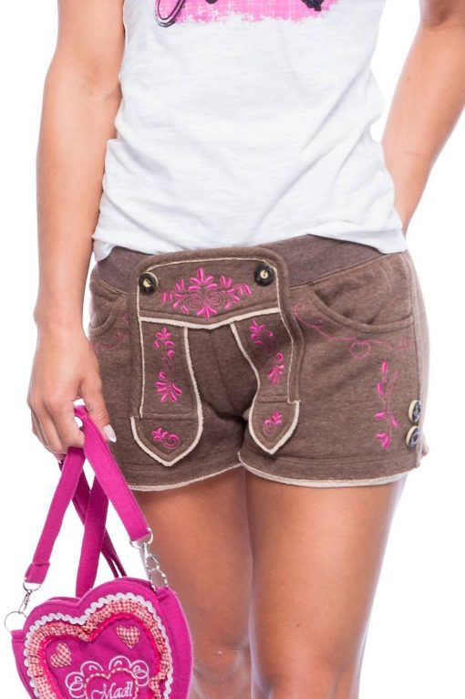 Trachten-Shorts-Rosa