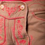 Damen-Short-Lederhosen-Style