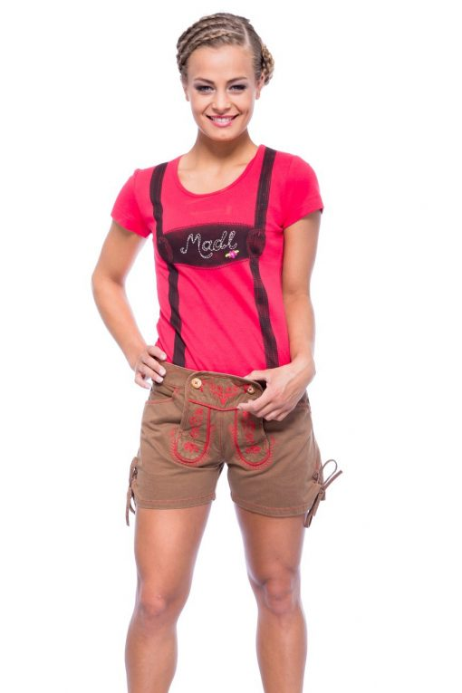 Damen-Short-Trachten-Look