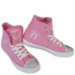 Damen-Trachten-Sneaker-Rosa