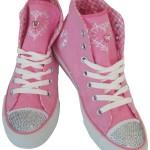 Pinke Trachten Sneaker