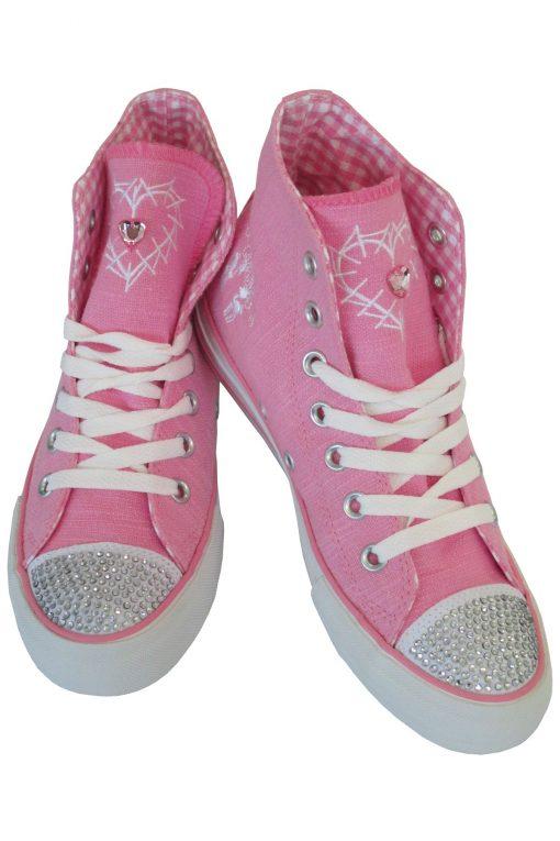 Pinke-Trachten-Sneaker