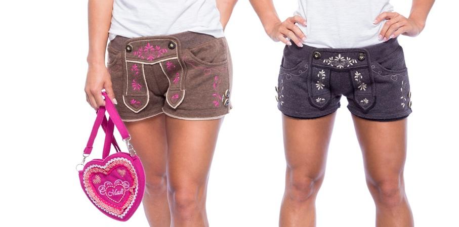 Trachten Shorts für Damen