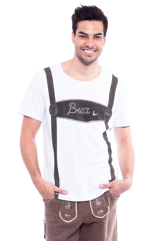 Herren Trachten T-Shirt Bua