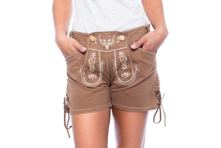 Stoff Trachtenhose für Damen