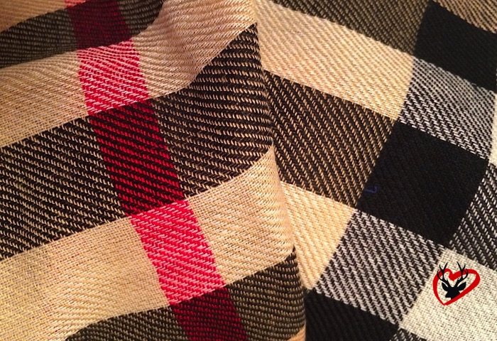 Karierter Schal für Damen und Herren