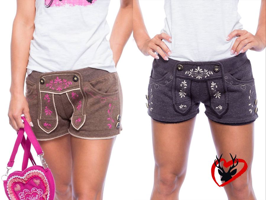 Trachten Shorts Damen