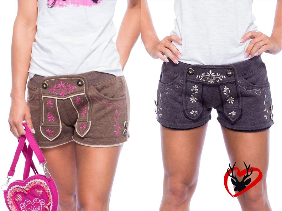 Trachten Shorts Damen
